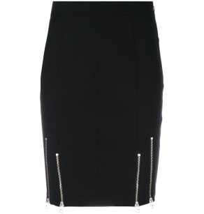 T ALEXANDER WANG COT.SKIRT W/ZIPPERS