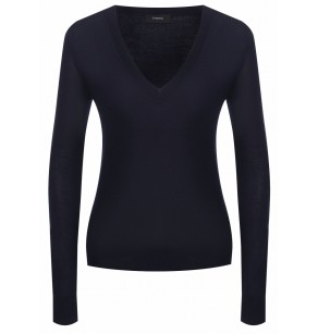 THEORY FOUNDATION VNECK SILKEN KNIT