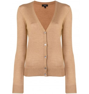 THEORY FOUNDATION VNECK CARDIGAN