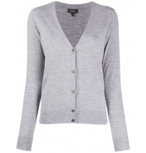 THEORY REPLENISHMENT V CARDIGAN PREEN