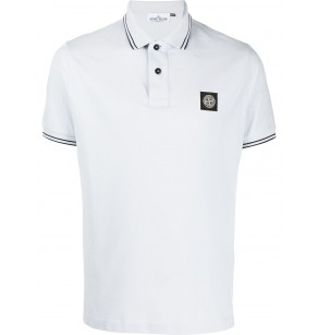 STONE ISLAND PIQUE STRETCH POLO