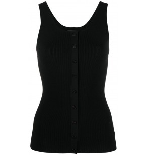 THEORY BUTTON UP TANK COMPA