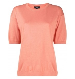THEORY EASY TEE HUDSON COTTON