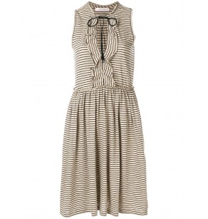 SCHUMACHER PLAYFUL STRIPE DRESS