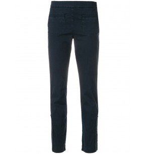 SCHUMACHER CROPPED SLIM PANT