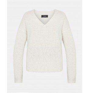 THEORY RELAXED VNECK CASHMERE