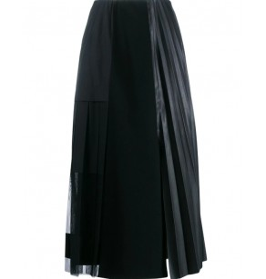 SCHUMACHER SKIRT ECOPELLE