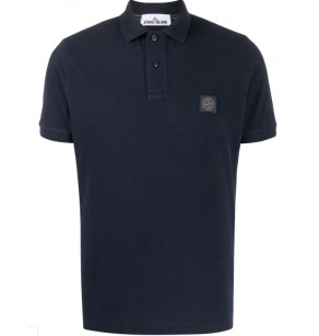 STONE ISLAND PIGMENTED POLO SS
