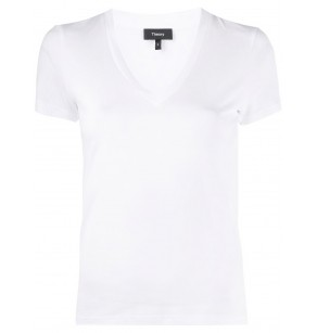 THEORY TINY TEE V NECK