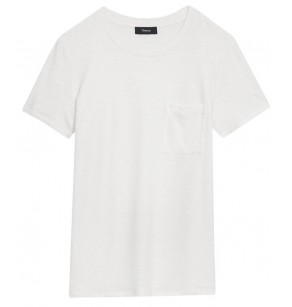 THEORY EASY POCKET TEE