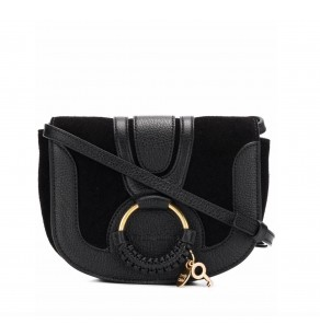 SEE BY CHLOE SMALL HANA LEATHER/SUEDE